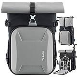 TARION Kamerarucksack Wasserdicht Fotoruckack Kameratasche Unisex mit 15,6 Zoll Laptopfach &...
