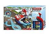 Carrera 20063028 FIRST Nintendo Mario Kart Rennstrecken-Set I 2,9m elektrische Rennbahn mit...