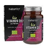 BIO VITAMIN D3, natürliches D-Vitamin aus Flechtenpulver, zur Erhaltung der Knochen, Muskeln und...