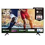 Hisense 55AE7000F 139 cm (55 Zoll) Fernseher (4K Ultra HD, HDR, Triple Tuner DVB-C/S/S2/T/T2,...
