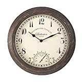 Smart Garden 5060000Uhr Bickerton Wall Clock 12