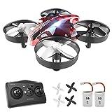Mini Drohne fr Kinder, AT-66 RC Drone Quadrocopter mit 3D Flips,Hhe-halten, Kopflos Modus, 3...