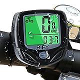 Fahrradcomputer Kabellos Bify 16 Funktionen Wasserdichte LCD Geschwindigkeit Fahrradtacho...