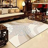 JRMU Indoor Rectangle Extra Weich Teppich,shaggy Hochflor Dick Rutschfest Geometrisch Gemustert...