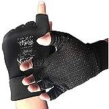 Zaleraith Fahrradhalbfingerhandschuhe Christ Anti-Rutsch-Sporthandschuhe mit stoßdämpfender...