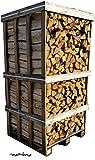 mumba® 900 kg Birkenscheite Brennholz Kaminholz Birke sauber auf der Palette geliefert Kaminholz...