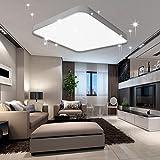 VINGO 60W LED Deckenleuchte Kaltweiß Sternenhimmel Wohnzimmerlampe Küchenleuchte Deckenbeleuchtung...