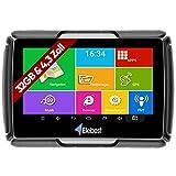 Elebest Motorrad und PKW Navigationsgerät Rider A43 Pro, Navi, 4.3 Zoll Bildschirm Android 6.0 -...