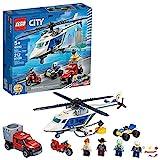 LEGO City Police Helikopter Chase 60243 Polizei-Spielset, Bausätze für Kinder, New 2020 (212...