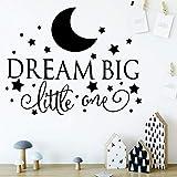 BailongXiao Cartoon Traum Big Moon Star wanddekoration wandaufkleber Wohnzimmer Schlafzimmer...