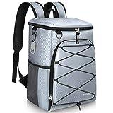 SEEHONOR Isolierter Kühl-Rucksack, auslaufsicher, weich, leicht, für Mittagessen, Picknick,...