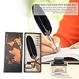 L.L.QYL Füllfederhalter Retro-Feder-Dip Pen Schreibtinte Set Füllfederhalter...