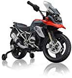 ROLLPLAY Premium Elektro-Motorrad, Für Kinder ab 3 Jahren, Bis max. 35 kg, 12-Volt-Akku, Bis zu 5...