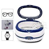 Carrefy Schmuck Ultraschallreiniger, mit digitaler Zeitschaltuhr für Brillenuhren Halsketten...