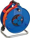 Brennenstuhl Garant IP44 Kabeltrommel (40m Kabel in orange, Spezialkunststoff, Einsatz im...