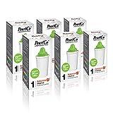 PearlCo - Alkaline classic Pack 6 Filterkartuschen für basisches Wasser - passend zu Brita classic