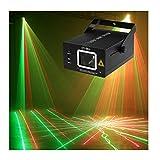 RGB LED DJ Bühne Lampe, 60W Multi Bunten Laser Scanner Lichteffektgeräte zum Tanzen...