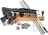 Maximumcatch Premier Fliegenrute und Avid Rolle Combo komplete 9' Fliegenfischen Outfit mit...
