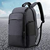 Notizbuchtaschen 36L Unisex Travel Bag 15,6 Zoll Laptop Rucksack mit USB Charging Port Flight Carry...