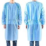 20Pack Einweg-Isolieranzug, nicht gewebte OP-Gewand Krankenschwester Uniform Arbeitskleidung