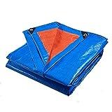 HRFBBY Reißfeste Plane Wasserdicht Regenschutz Zelte Plane Plane Camping Sonnenschutz LKW...