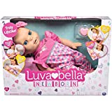Luvabella Newborn - interaktive Baby Puppe (43 cm) mit blonden Haaren, realistischer Mimik und...