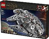Lego 75257 Star Wars Millennium Falcon Raumschiff Bauset mit Finn, Chewbacca, Lando Calrissian,...