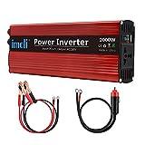 imoli 2000W Auto Wechselrichter, DC zu AC 12V zu 220V-240V, 4000W Spitzenleistung, Mit Zwei...
