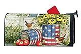 Mailwraps Studio M Patriotische Pflanzgefe, dekorativ, magnetisch, hervorragende Wetterbestndigkeit,...