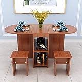 DGDHSIKG Esstisch Klappbarer Esstisch Home Moderne minimalistische kleine Wohnung Esstisch...