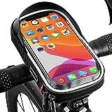 fuguzhu Fahrrad Handytasche, Wasserdicht Fahrradlenkertasche Handyhalterung Oberrohrtasche Fahrrad...