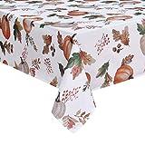 Alishomtll Tischdecke Herbst Tischtuch 150x210 Rechteckige Tafeldecke Outdoor Wasserabweisend...