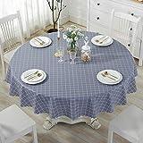 Ahuike Moderne Landhaus Tisch Decke Pv Einfachheit Schönem Tischwäsche Country Chic Grau...