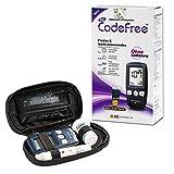 SD CodeFree Blutzuckermessgerät Set mit Teststreifen, Diabetes-Set mg/dL, Vorteilspack zur...