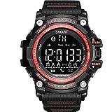 Outdoor Smart Watch Sportuhr Herren Laufen Digital Militar Herrenuhren Stoppuhr Smartwatch Android...