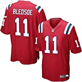 NFL Rugby Trikot, Patriots 12# Brady 87# 12# Elite Edition Besticktes Trikot Kurzarm Fan T-Shirts