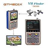 GT MEDIA V8 Satelliten Finder Meter Sat Finder Satellitenerkennung DVB-S / S2 / S2X Signalempfnger...