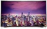 Grundig Fine Arts FLX 9591 BP 164 cm (65 Zoll) Curved Fernseher (Ultra-HD, Triple Tuner, 3D, Smart...