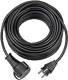 Brennenstuhl Qualitäts-Gummi-Verlängerungskabel (5m Kabel, für den kurzfristigen Einsatz im...