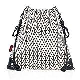 Reer Kinderwagen-Einkaufstasche Clip&Go Bag, stylischer großer Turnbeutel, wasserabweisend,...