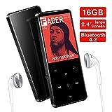 SuperEye 16GB Bluetooth 4.2 MP3 Player mit Kopfhörern,2.4 Zoll TFT Bildschirm,MP3 Player Sport...
