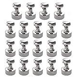 Neodym Magnet 18 Stück N52 Magneten 12 x 16 mm für Magnettafel, Stecktafel, Kühlschrank,...