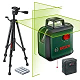 Bosch Kreuzlinienlaser AdvancedLevel 360 (Stativ, Arbeitsbereich: bis 24 m, selbstnivellierend bis...