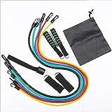 CZX 11pcs / Set Pull Rope Fitness-Übungen Widerstand-Bänder Latex Schläuche Pedal Excerciser...