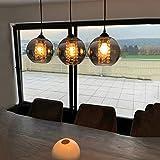 LED Kristall Pendelleuchte esstisch Pendellampe Esszimmer Höhenverstellbar Kronleuchter...