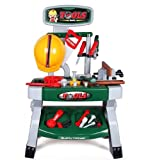deAO Kids Workbench Werkzeugset Kinder Spielwerkzeug Sets für Kleinkinder