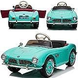 Elektrisches Kinderauto Elektroauto für Kinder BMW 507 Roadster - Lizensiert - 2x35W, Ledersitz,...