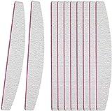 Nagelfeilen für gelnägel(10 Stück),Nagelfeilen 100/180 Feilen Nägel-Doppelseitige...