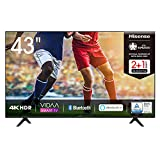 Hisense 43AE7000F 108cm (43 Zoll) Fernseher (4K Ultra HD, HDR, Triple Tuner DVB-C/ S/ S2/ T/ T2,...