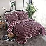 BDTOT Gesteppt Tagesdecke Überwurf Bettüberwurf Steppdecke Husse Decke Bettdecke 100% Baumwolle...